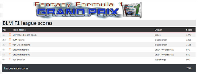 BLM F1 2020 (FF1GP.com) ml